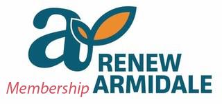 Renew Armidale membership logo